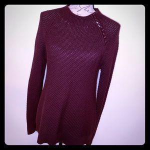 LOFT Button Sweater